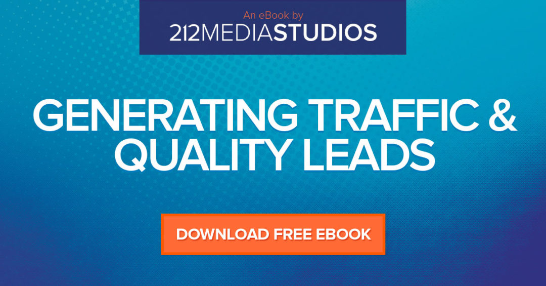 Generating Traffic & Quality Leads