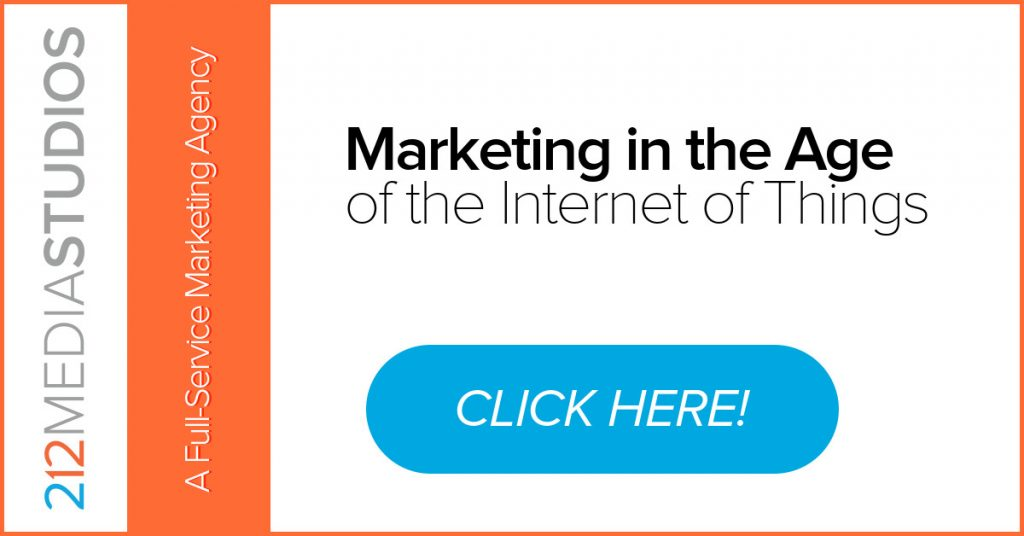 Internet of Things and Marketing White paper
