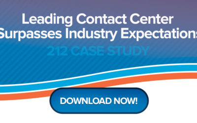Leading Contact Center Surpasses Industry Expectations