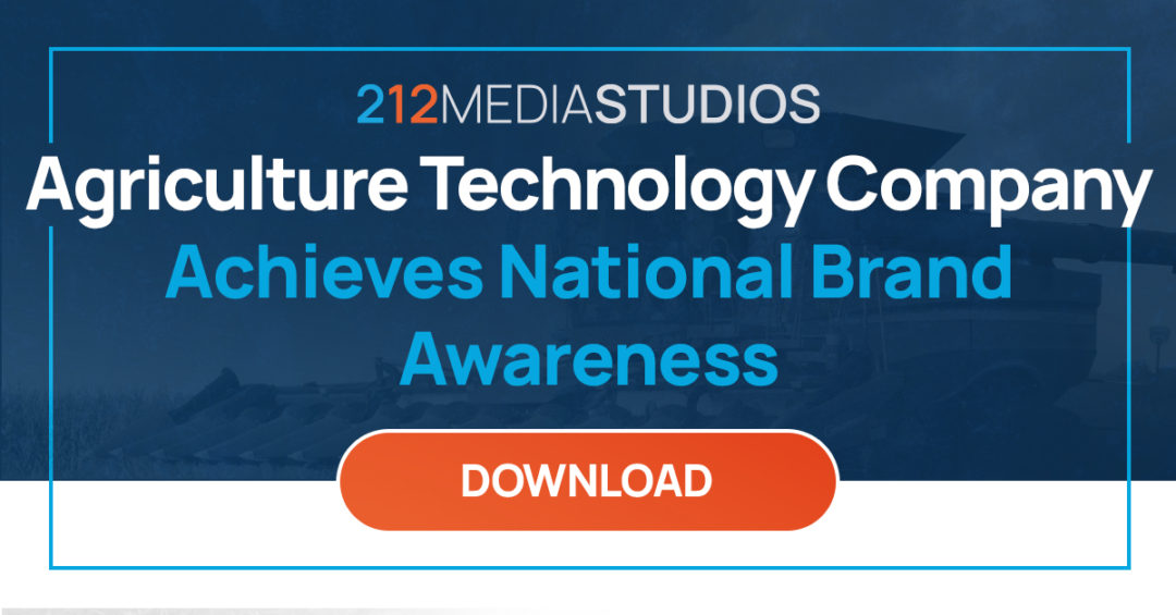 Agriculture Technology Company Achieves National Brand Awareness