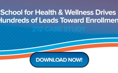 School for Health & Wellness Drives Hundreds of Leads Toward Enrollment