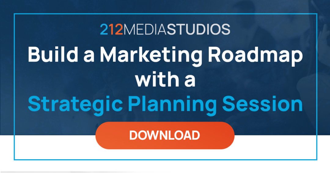 Build a Marketing Roadmap with a Strategic Planning Session